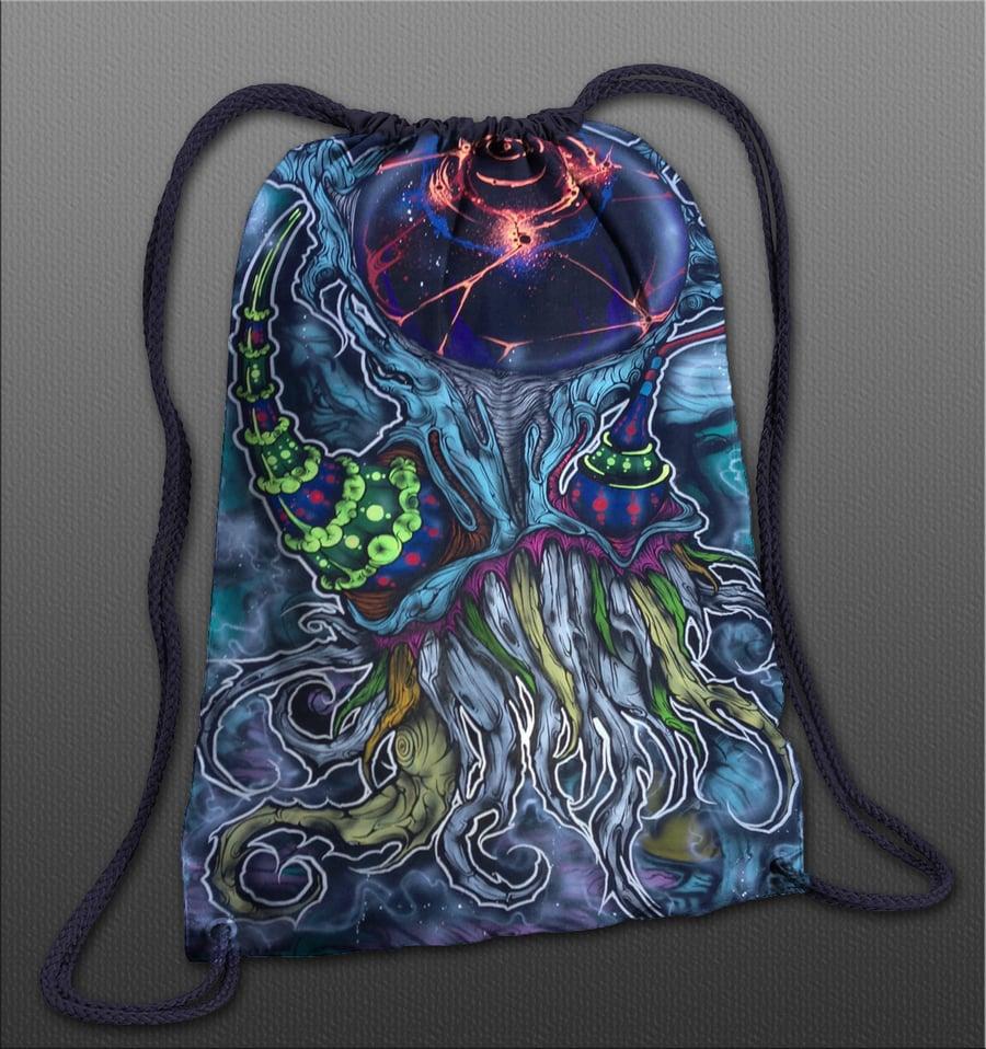 Image of Octo Kush Cinch Bag