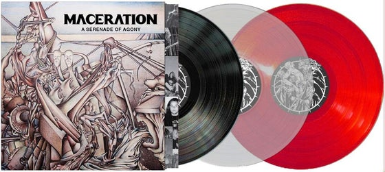 "Image of Maceration ""A Serenade of Agony"" LP"