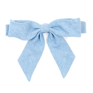 Image of pale denim {lady bow)