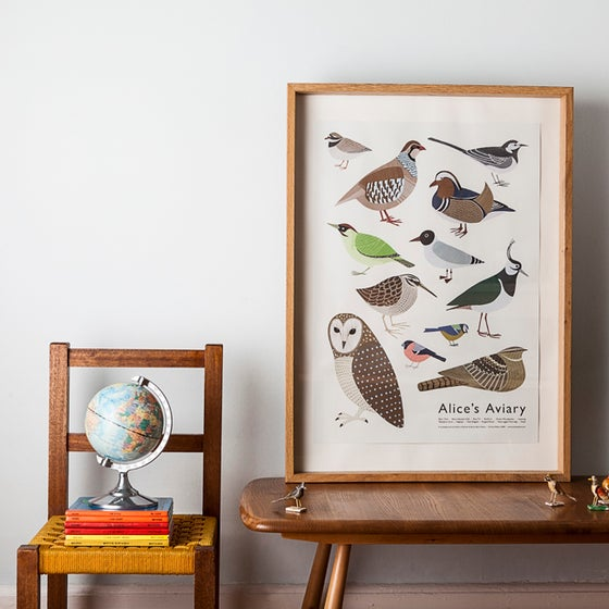 Image of Alice's Aviary Poster
