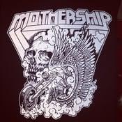 Image of Mothership shirt - Skull Bike