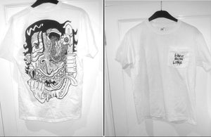 Image of Zombie T-Shirt (Backprint & Pocket)
