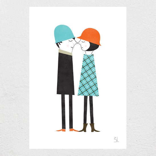 Image of Couple Print