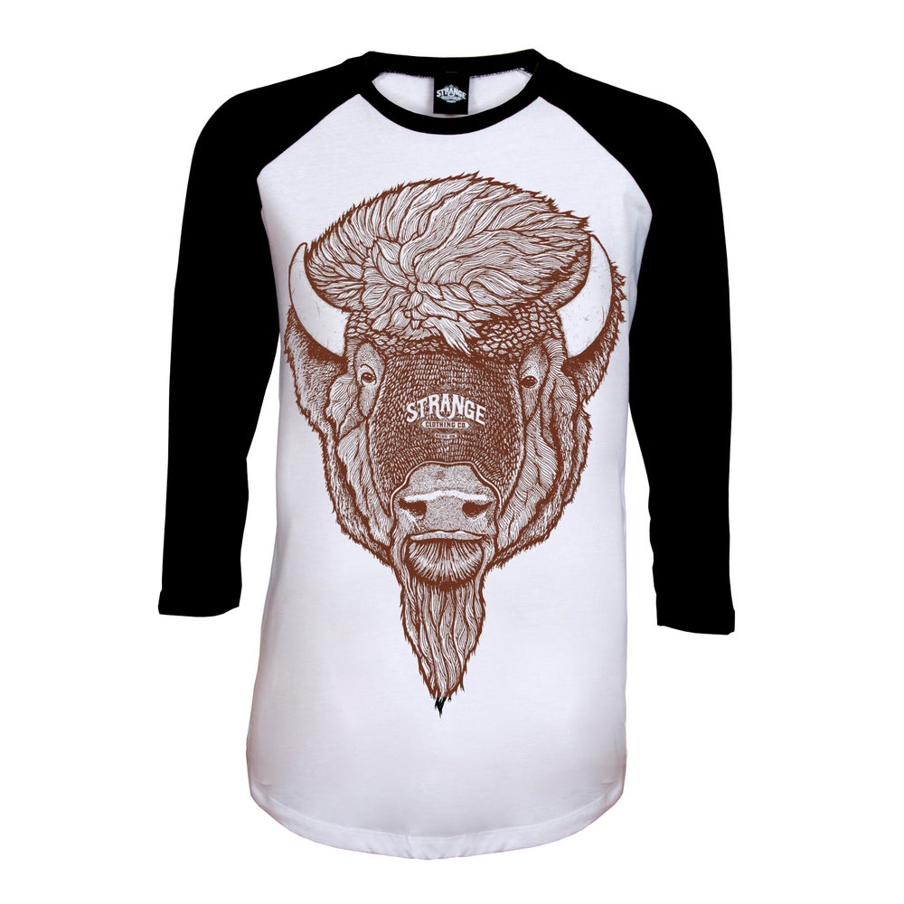 Image of Bison Baseball Tee