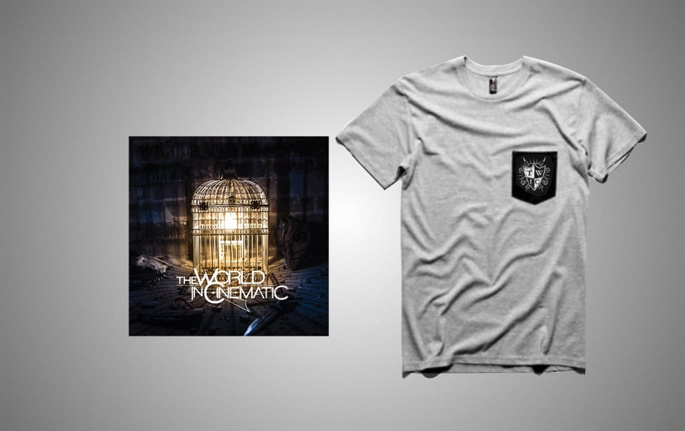 Image of Self Titled - EP (Hardcopy) + Pocket Tee