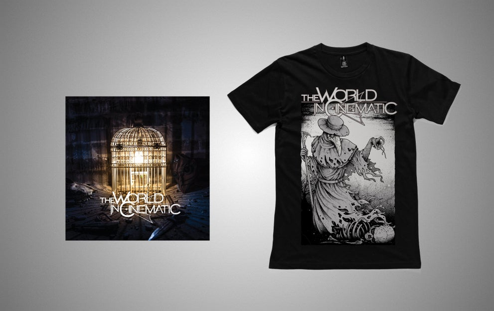 Image of Self Titled - EP (Hardcopy) + Plague Tee