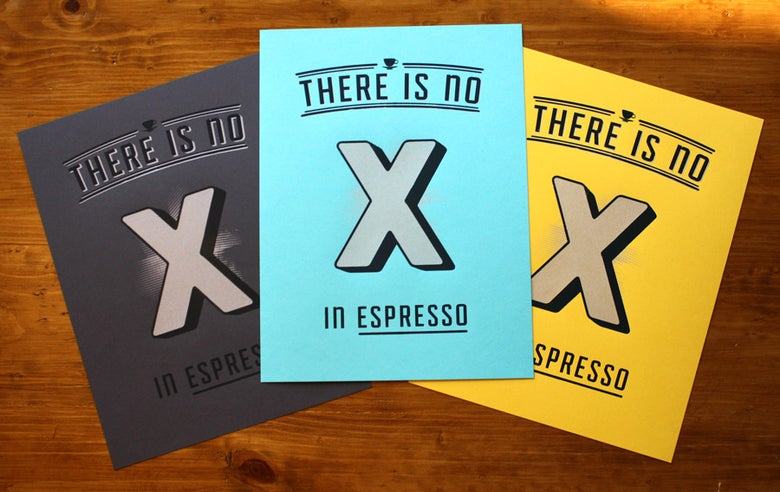 Image of No 'X' in Espresso