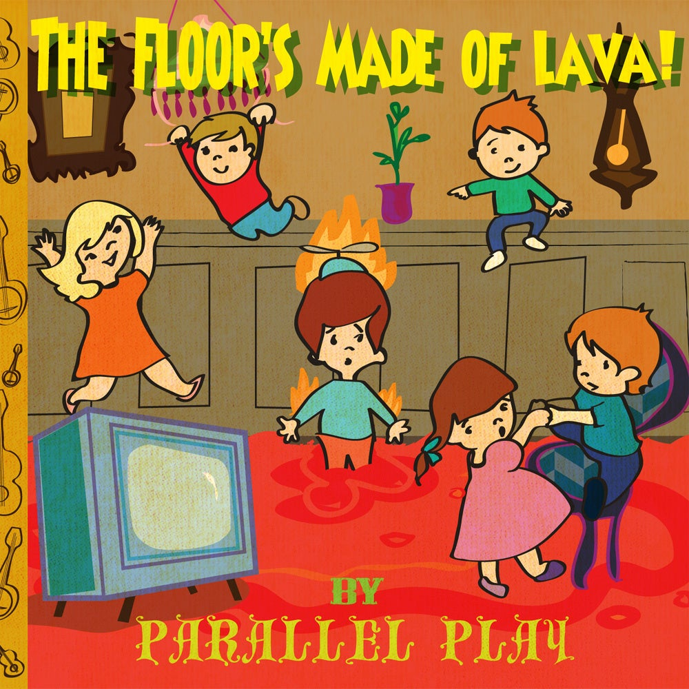 Image of The Floors Made of Lava! (CD)