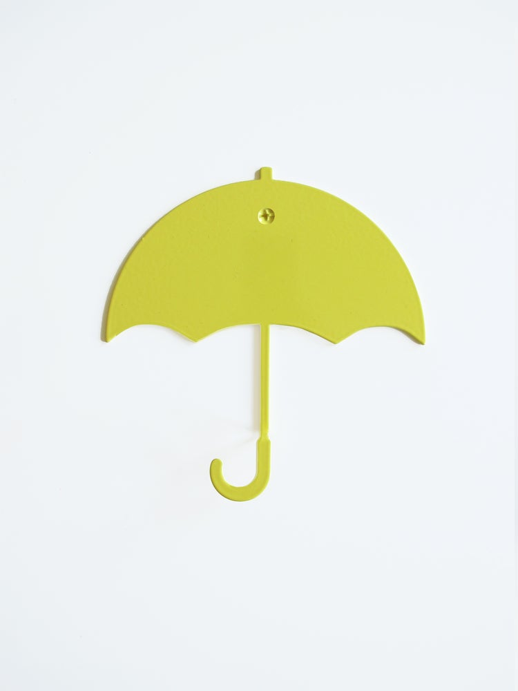 Image of Rain on me - Hanger yellow