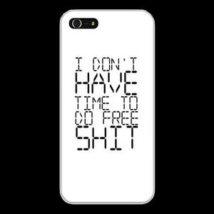Image of Free Shit iPhone case