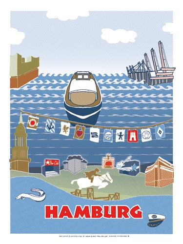 Image of HAMBURG (postcard)