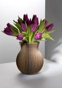 Vase cache-cache en carton recyclé