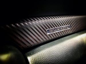 Image of Audi b5 S4 RS4 A4 Carbon Fiber Trim