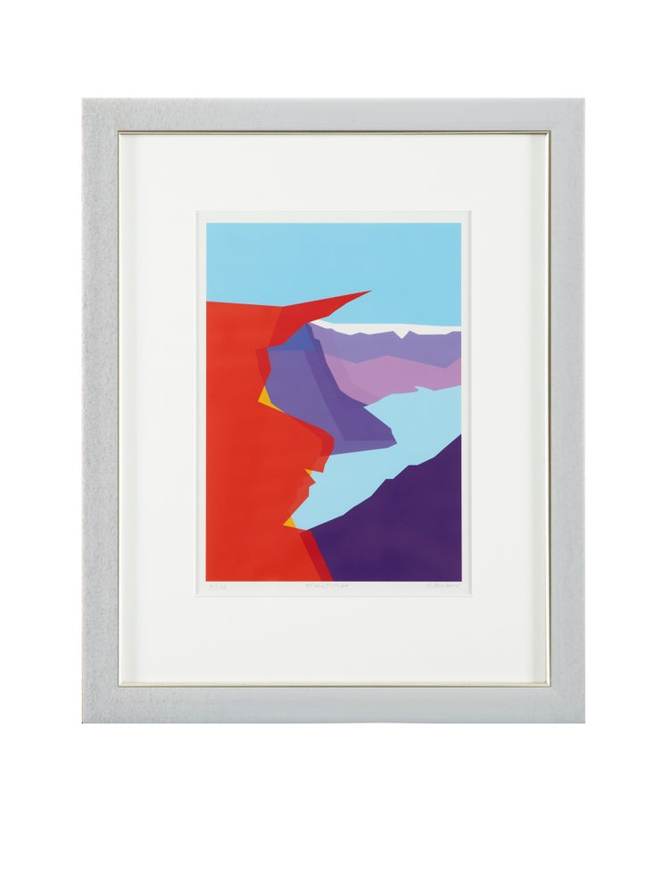 Image of Trolltunga, Norway - art print