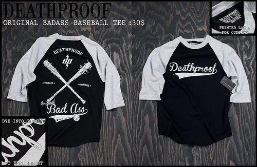 Image of Original BadAss / Baseball Tee
