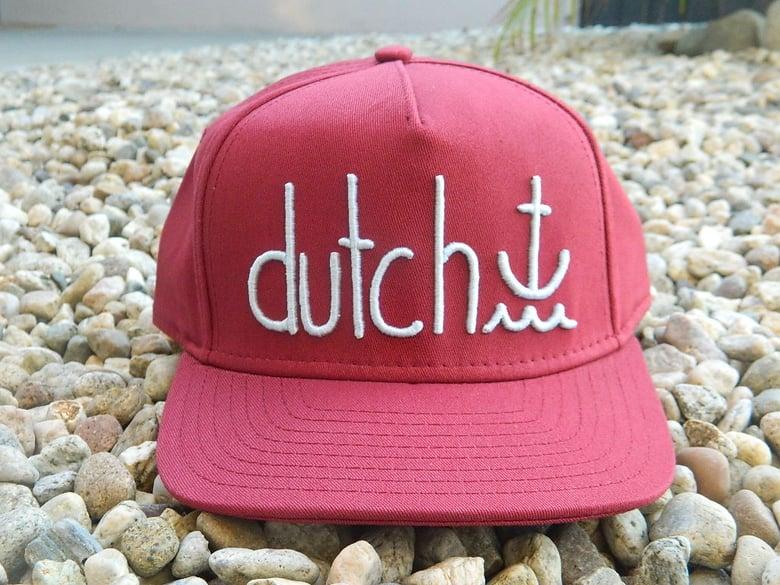 Image of Dutch Hat Crimson/Frost Blue