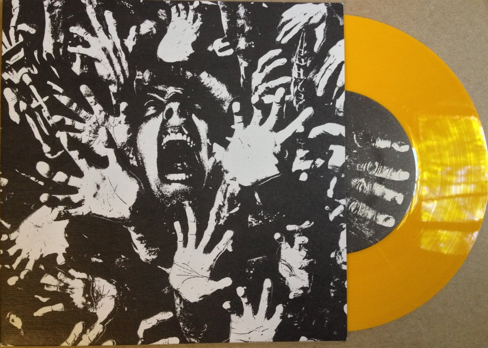 Shackl S Worn Out Split 7 Quot Yellow Vinyl Castigated 01