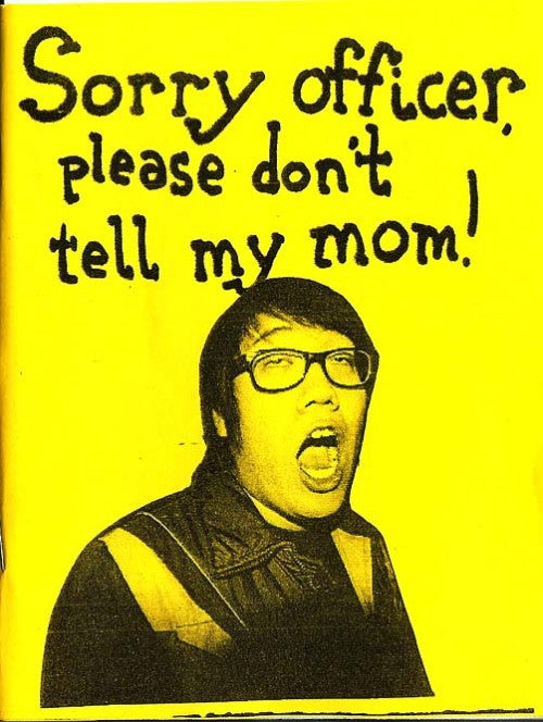 Image of Sorry Officer, Please Don't Tell My Mom!