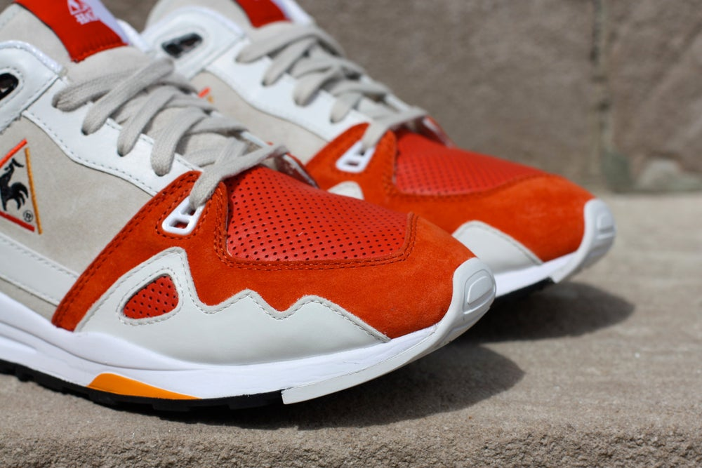 Image of HAL x Le Coq Sportif LCS R1000 'WHITE SWAN""