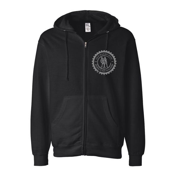 Image of OG Black Hooded Sweatshirt