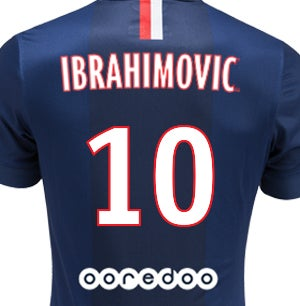 cheap for discount 9ec51 ed218 PSG Jersey Zlatan Ibrahimovic 14/15