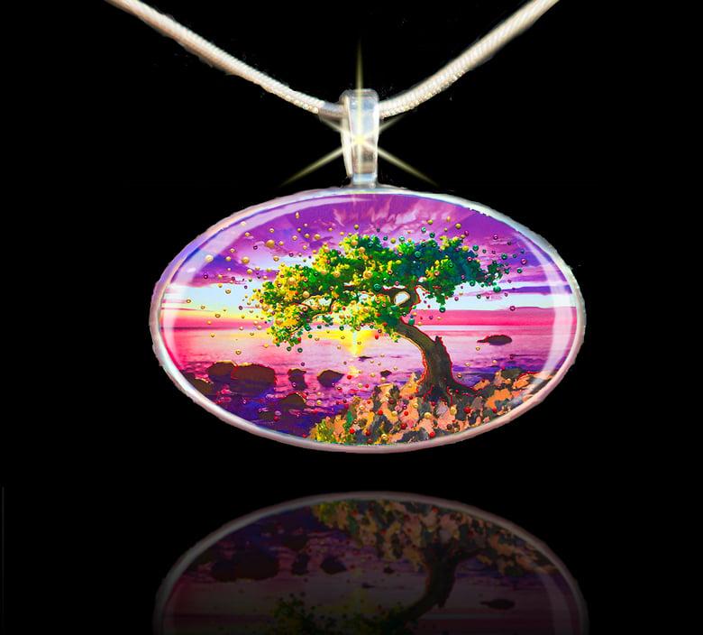 Image of The Forgiveness Tree Energy Pendant