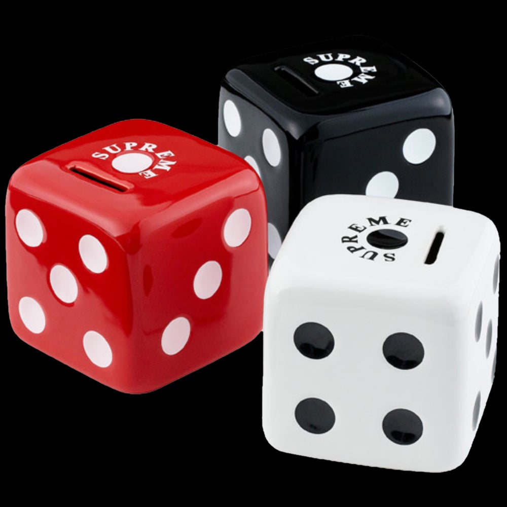 Image of 2011 Ceramic Dice Coin Bank