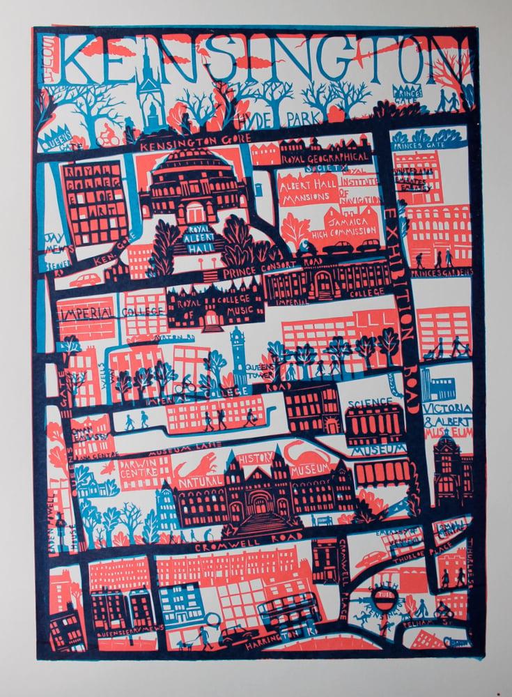 Image of South Kensington Screen Print