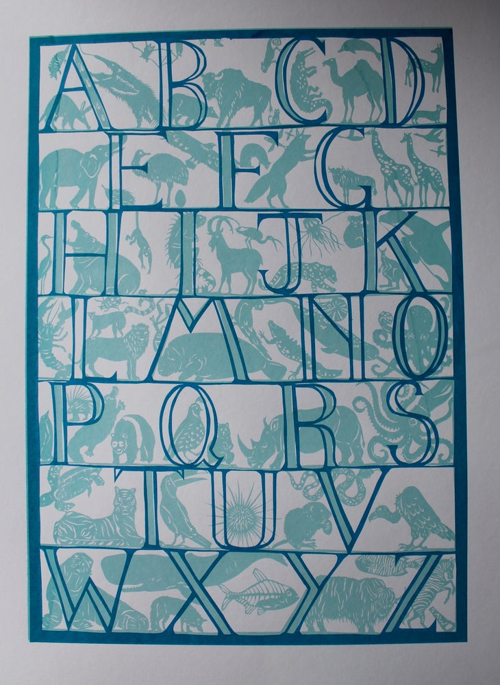 Image of Animal Kingdom Alphabet Print