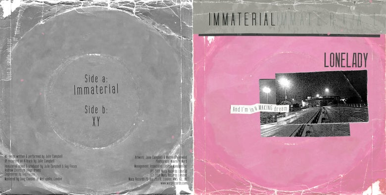 Image of IMMATERIAL 7'' (low stock)