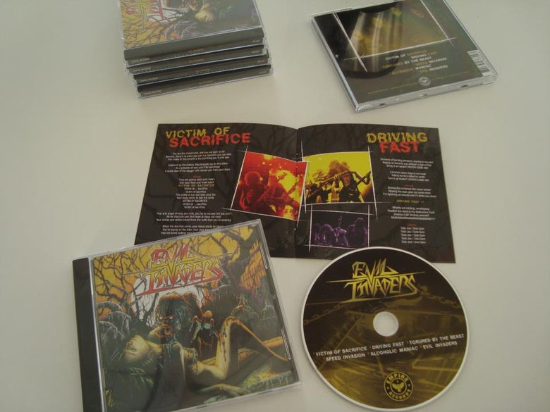 Image of Evil Invaders - EP CD (2013)