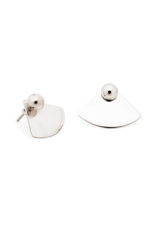 Image of ORB Earrings Quart Pair