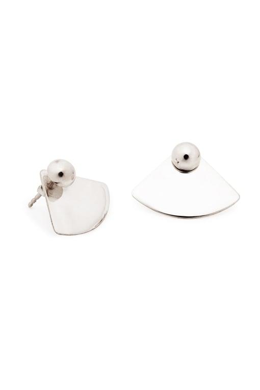 Image of ORB Earrings Quart Pair