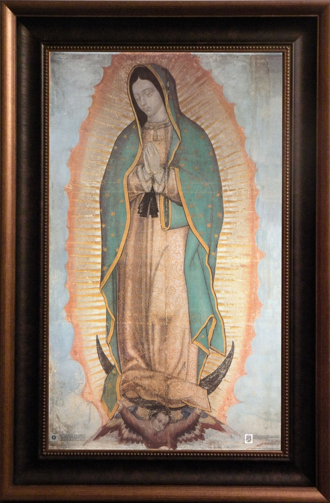 Our Lady Of Guadalupe Larson Juhl Frame Canvas Icon 23x35 Our Lady