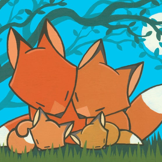 Image of Fox Family