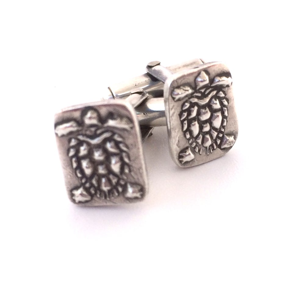 Image of Tiny Turtle Cuff Links