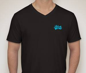 Image of Black Logo V-neck