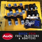 Image of BOSCH - EV14 550-2200cc FUEL INJECTORS & ADAPTERS
