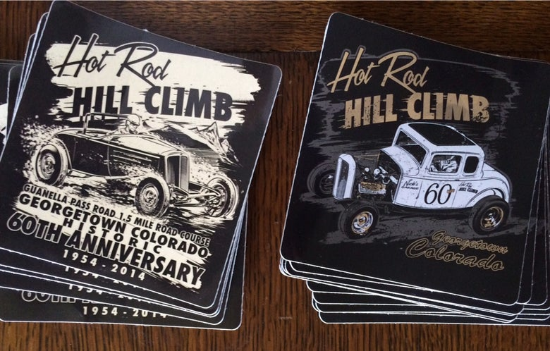 Image of Hot Rod Hill Climb Sticker Sets