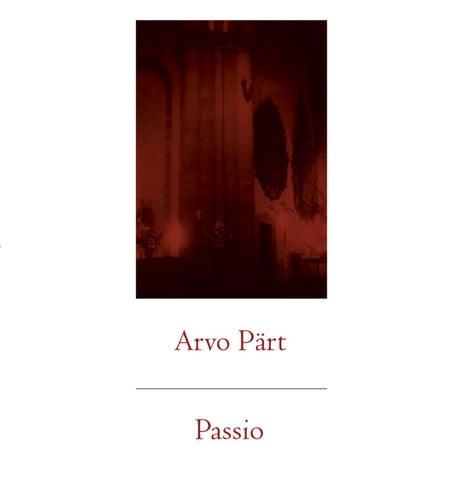 Image of Arvo Pärt - Passio