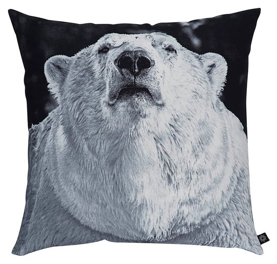Image of BY NORD POLAR BEAR CUSHION