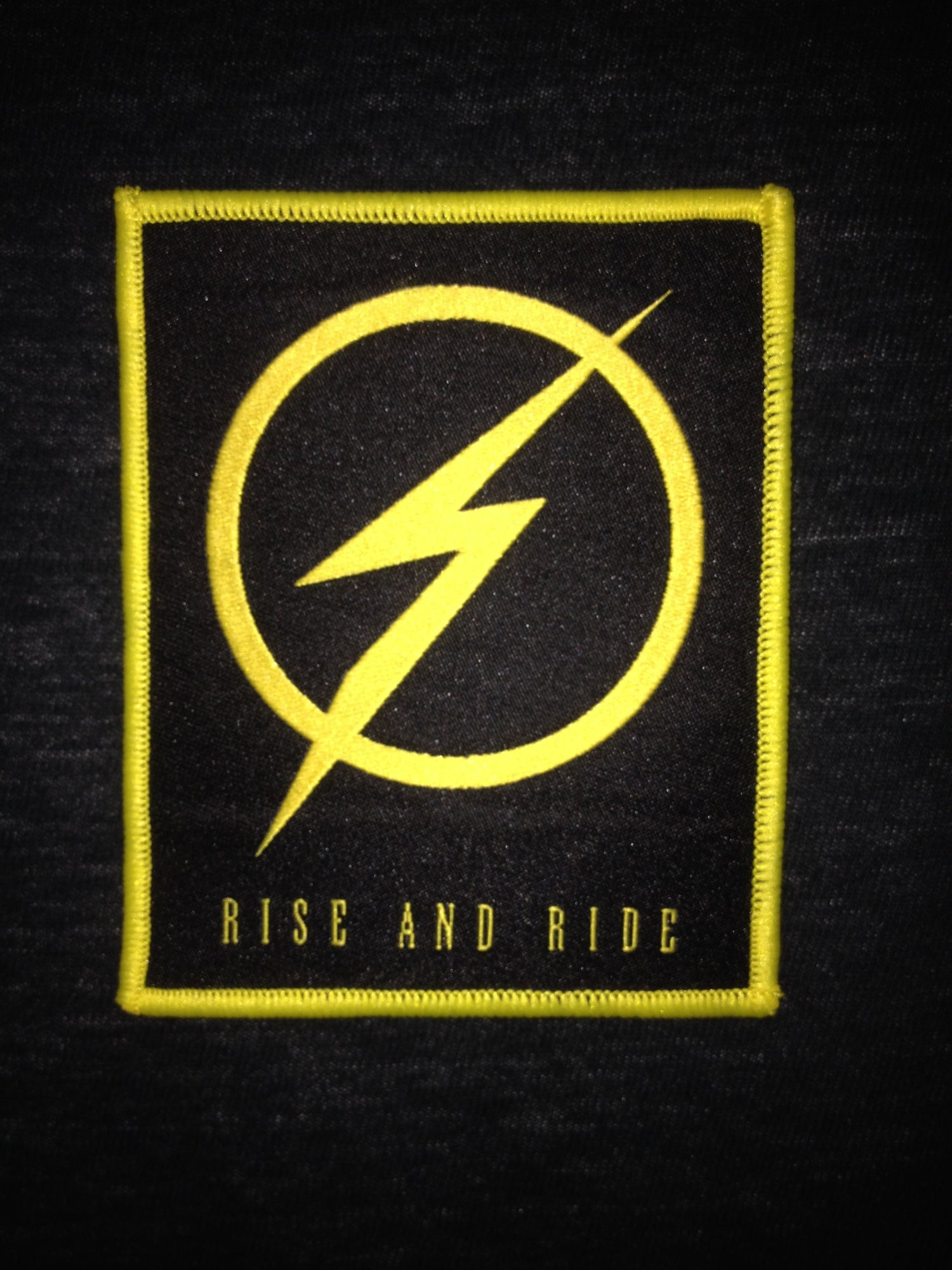 Image of Patch - Rise and Ride