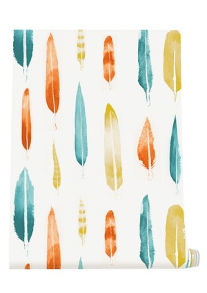 Image of Feathers Wallpaper - Lido