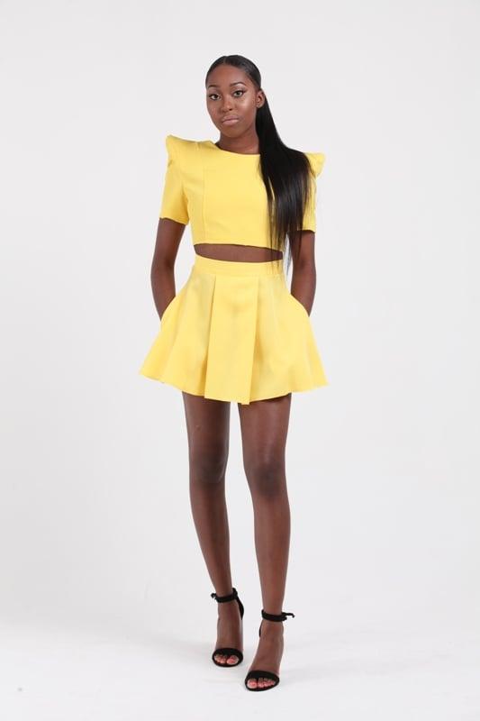 Image of Mini Circle Skirt w/Pockets