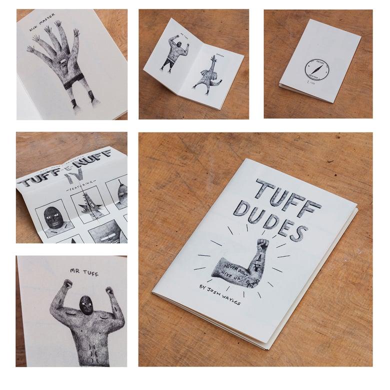 Image of Tuff Dudes - Josh Wayles (zine + prints)