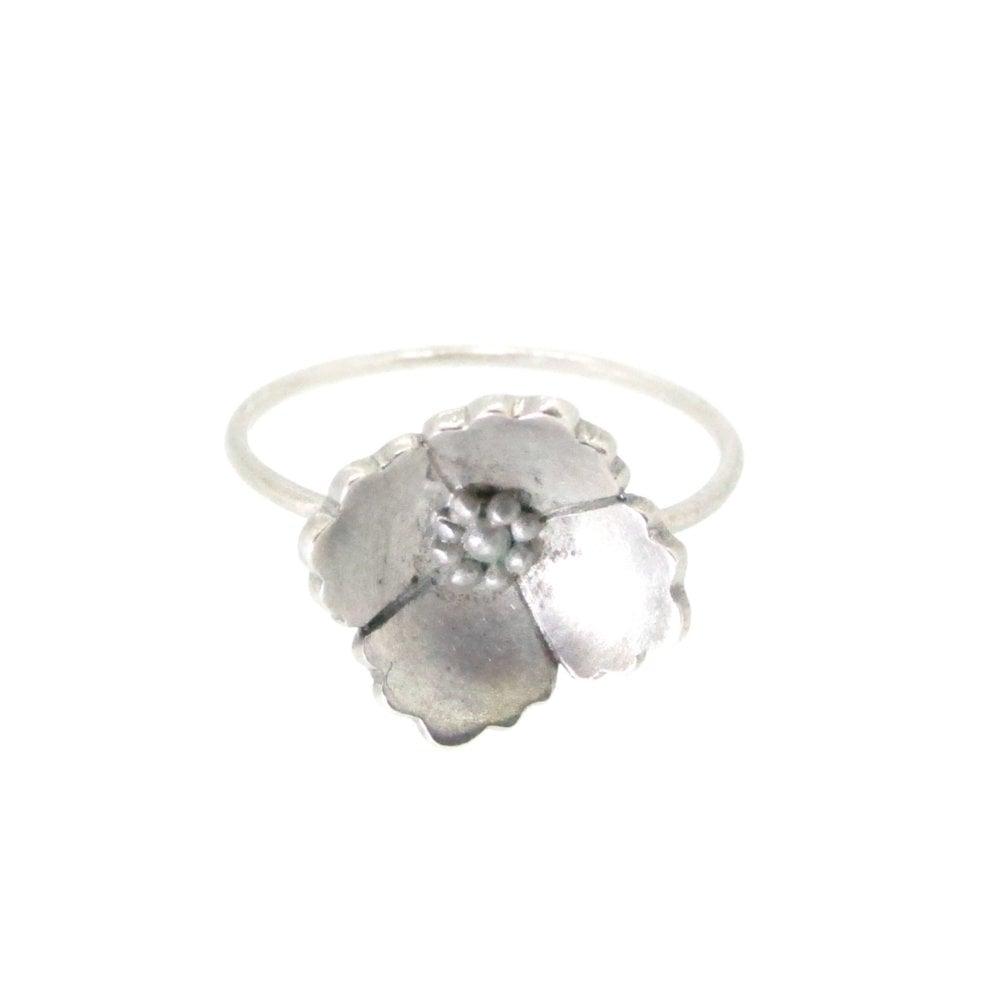 Image of Springtime Wildflower Wildrose stacking ring
