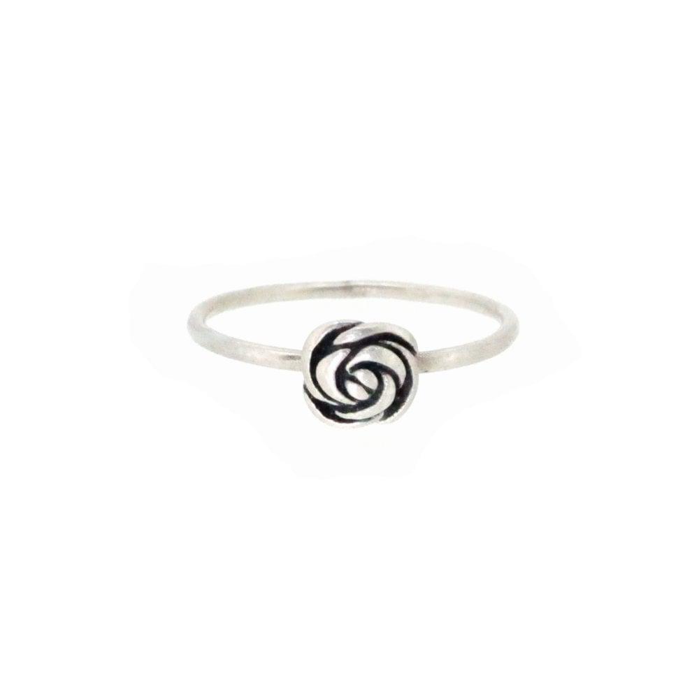Image of Springtime Wildflower Rose bud stacking ring