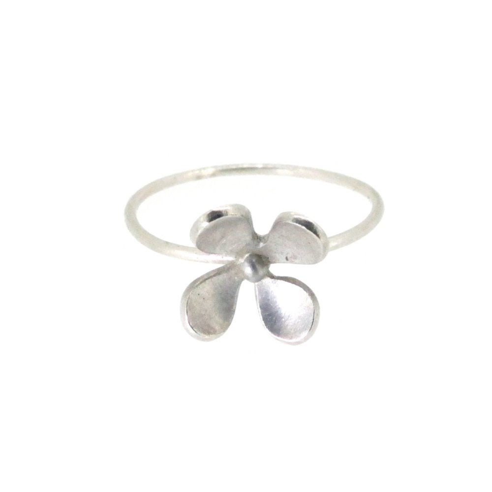 Image of Springtime Wildflower Lady's Smock stacking ring