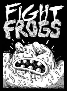 Image of Fight Frogs Screen Printed Patch