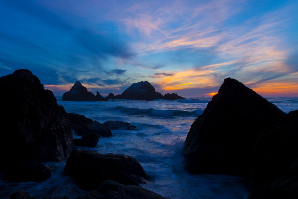 Image of Sutro Baths Sunset